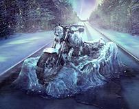 Motor Cycle Show - Ice Bike