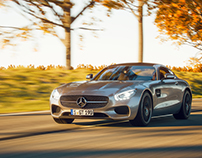 AMG GT on the road