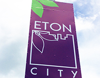 Eton City - Directional Lamp Post Banners