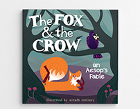 Fox & Crow children's book cover