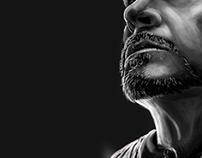 Ironman digital painting