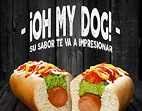 ¡OH MY DOG! Hotdgs premium de UPA!