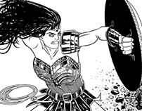 Diana kicking some serious butt