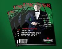"""Magazine - Uncover """"Heineken"""""""