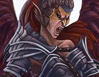 Monster illustration - Harpy - Wayfinder #14