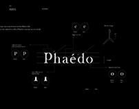 branding & visual identity for Phaédo