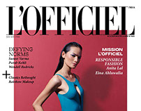 Editorial | L'Officiel India Jul'17