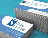 Logo Alice Santos