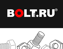 Create 404 error page for the company Bolt.ru