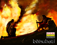 The Decisive Moment - Bahubali Kattappa Digital Art