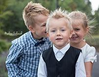 Bryllupsfest i Larvik - barna