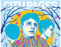 Cover illustration for City Pages´ 2016 Fall Arts guide