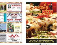Giovanni's Pizza To Go Menu Design