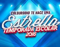 Temporada Escolar Supermercados Colsubsidio 2016