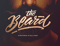 Hipsteria Style Font - The Beard