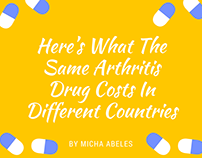 What the Same Arthritis Drug Costs Around the World