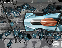NISSAN EV GT-R 2030