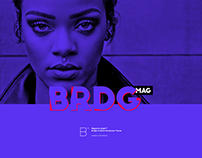 Magazine UI Design for Bridge WordPress Theme