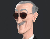Stan Lee - Stylized
