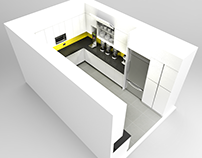 Interior Design: Canadian Tire Head Office Kitchen