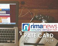 Rate Card Book