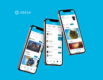 Vresh Mobile App