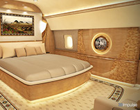 Head of State Aircraft StateRoom