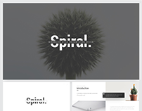 Spiral Minimalis Presentation