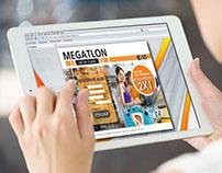 Landing page Megatlon red de clubes