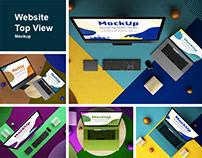 Website Top View