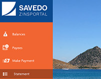 Savedo Zinsportal Responsive UI Design - Case study