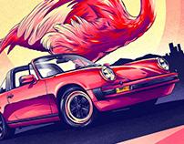 Flamingo – Porsche 911 Carrera 3.0 Targa