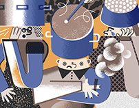 Personal Illustration 2015 winter