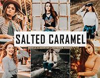 Free Salted Caramel Mobile & Desktop Lightroom Preset