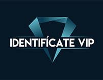 Identifícate VIP - Logotipo y Línea Gráfica