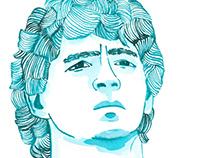 young Diego Maradona