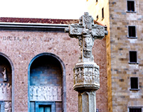 Cross Monastery of Montserrat - Catalonia