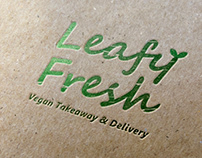 Logo for vegan food service