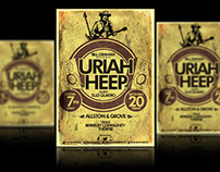 Uriah Heep - Flyer Design!