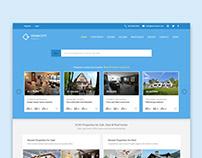 Ocean City Real Estate UI Design Concept