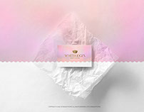 Business Card on a Tracing-Paper PSD Mockup