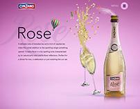 Cinzano Rose - Promotional Website