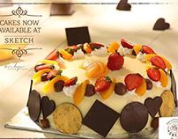 Sketch Cafe - Cakes