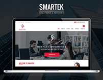 Smartek (Web Solutions & Services Website Design)