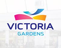 Victoria Gardens logo & identity