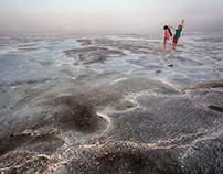 ETHIOPIA: Lake Assale, Danakil Depression