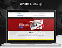 Diseño Web // Vepromet