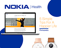 NOKIA Health Blog + Social Media Campaign | Photography