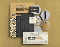 ACM Pré-Moldados   Brand Identity