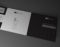 Trifold brochure Brand